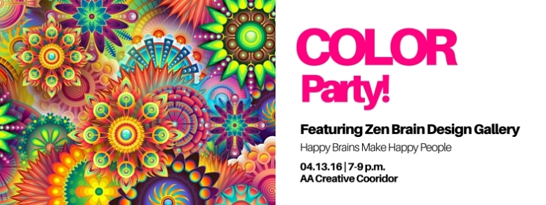Color Party Event Banner