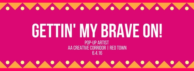 Gettin' my Brave on! facebook cover